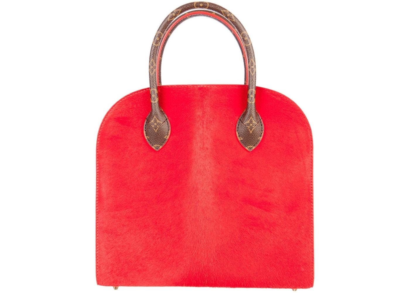 d8c876125ed Louis Vuitton x Christian Louboutin Iconoclast Tote Monogram Brown/Red