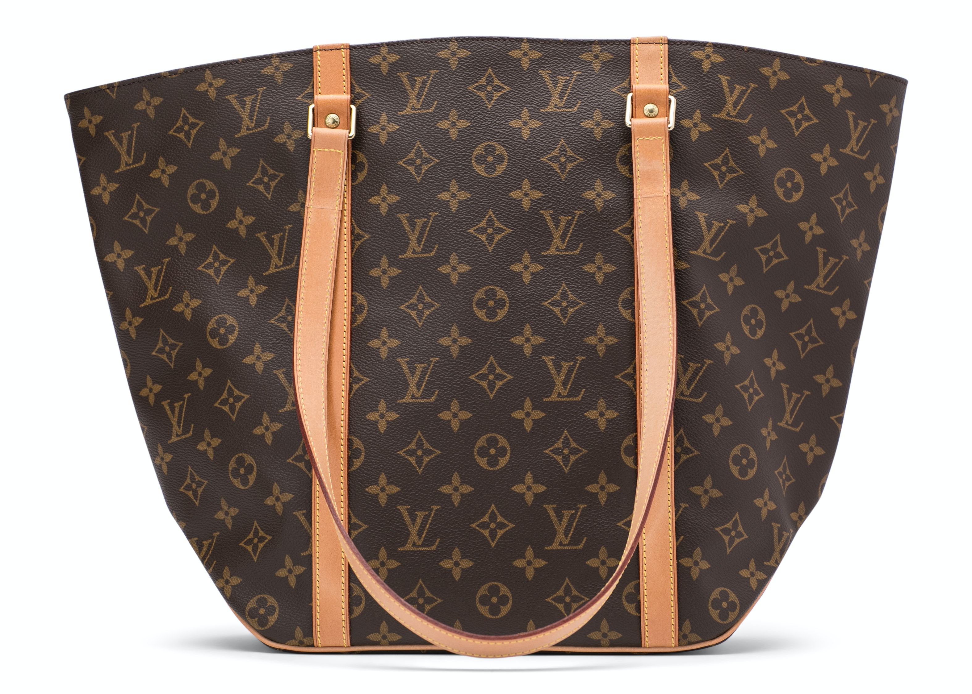Louis Vuitton Shopping Sac Monogram Brown