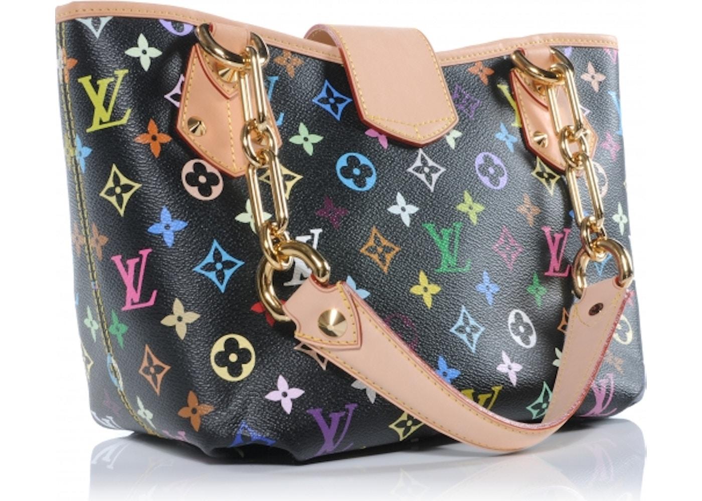 adfba002f0 Louis Vuitton Shoulder Annie Monogram Multicolor MM Black