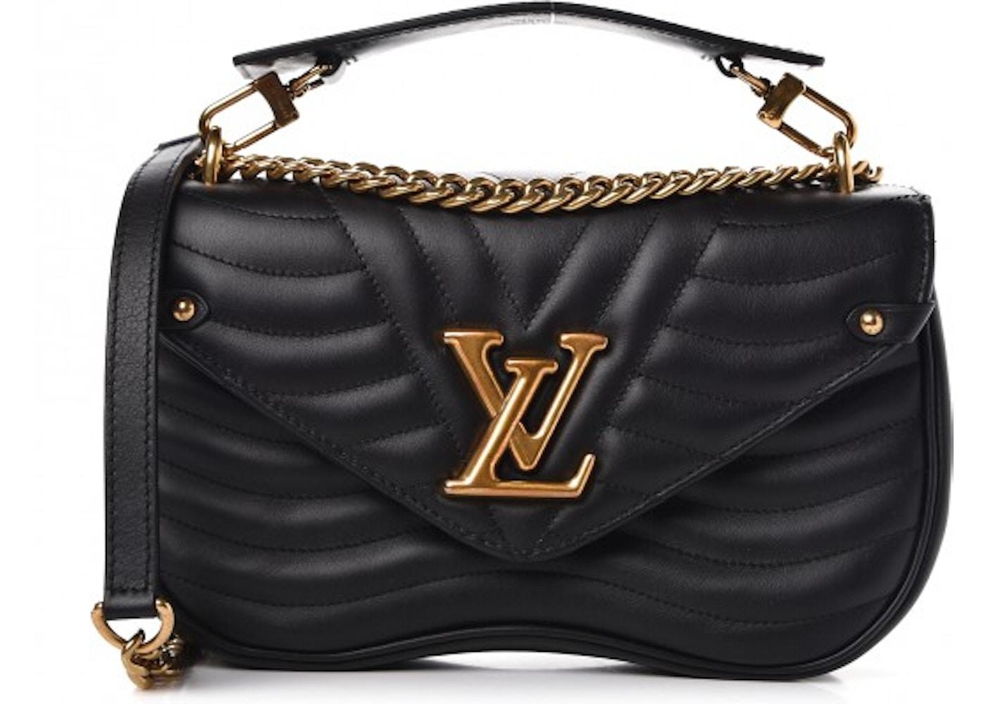 978287026f1e7 Louis Vuitton Shoulder Bag New Wave Chain With Accessories MM Noir Black.  With Accessories MM Noir Black