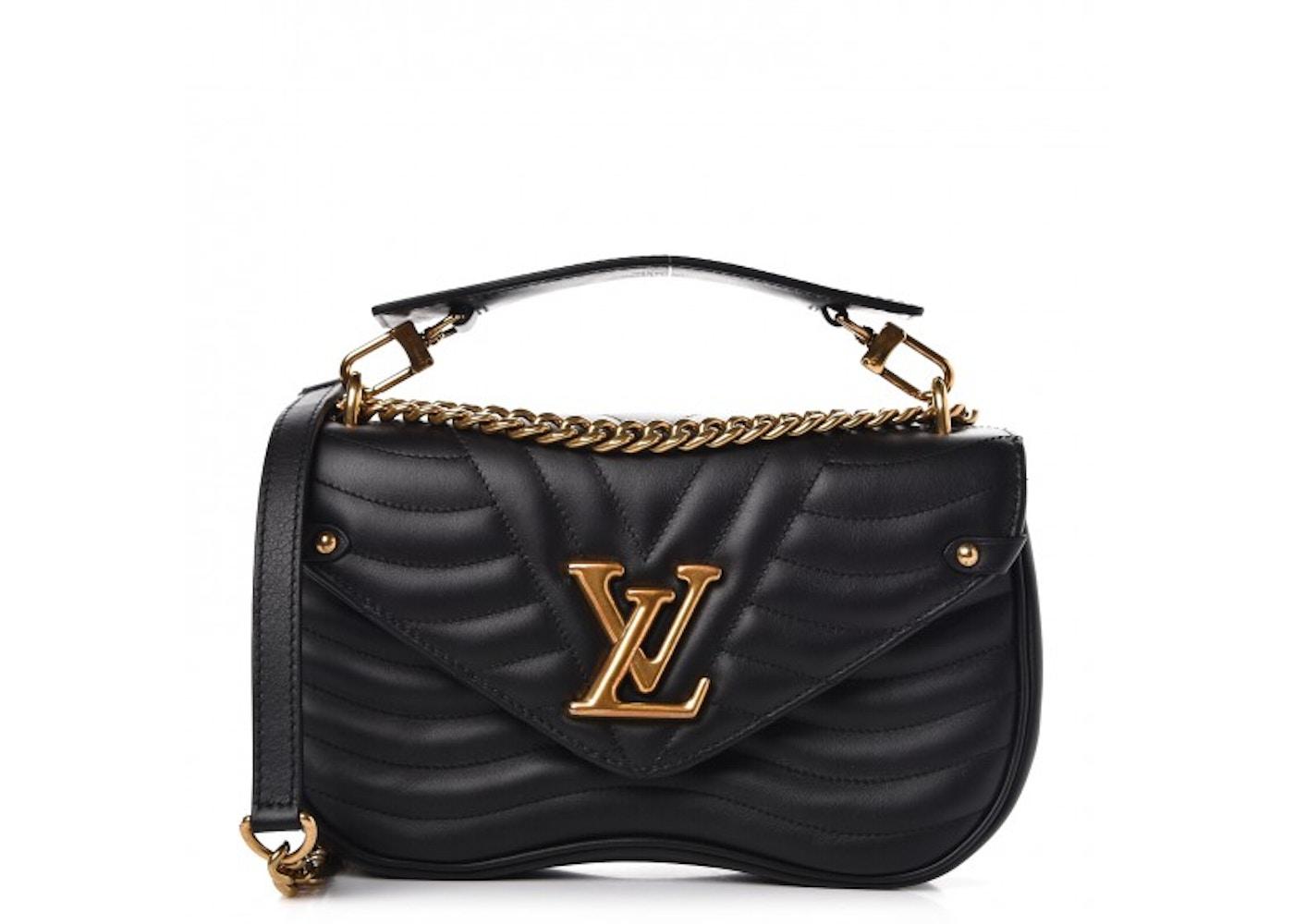 Louis Vuitton New Wave Chain Bag Mm Black