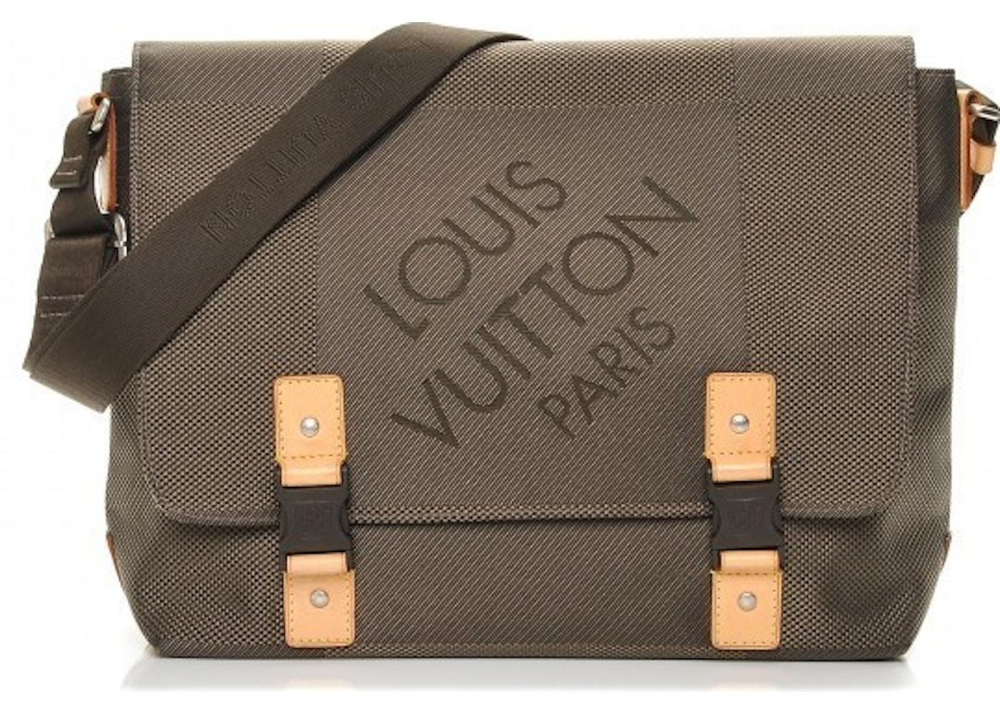 ... Louis Vuitton Messenger Bag Damier Geant Brown. Damier Geant Brown Louis  Vuitton Citadin ... 59296efdafe42