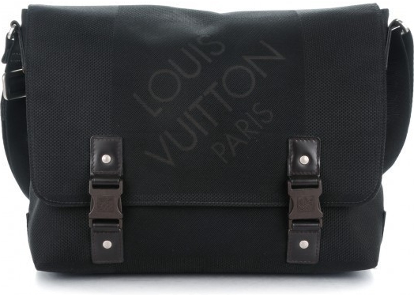 1b673351dc526 Louis Vuitton Shoulder Messenger Loup Damier Geant Noir Black. Damier Geant  Noir Black