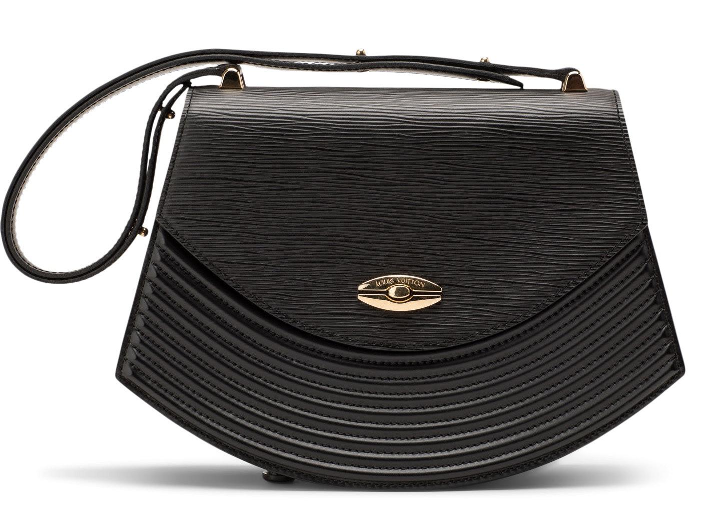 Louis Vuitton Shoulder Tilsitt Epi Black