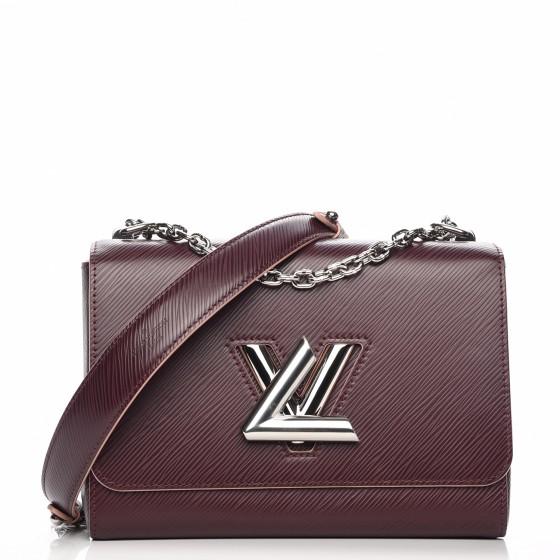Louis Vuitton Shoulder Twist Epi MM PruneRose Poudre