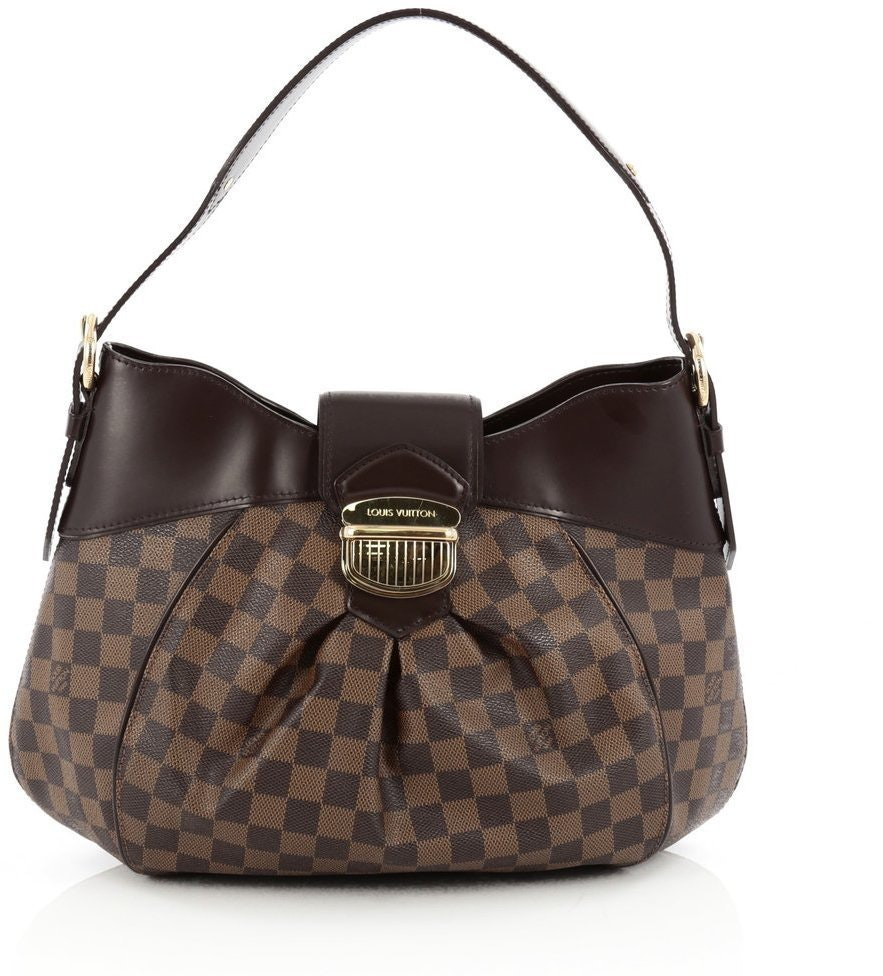 Louis Vuitton Sistina Damier Ebene MM Brown