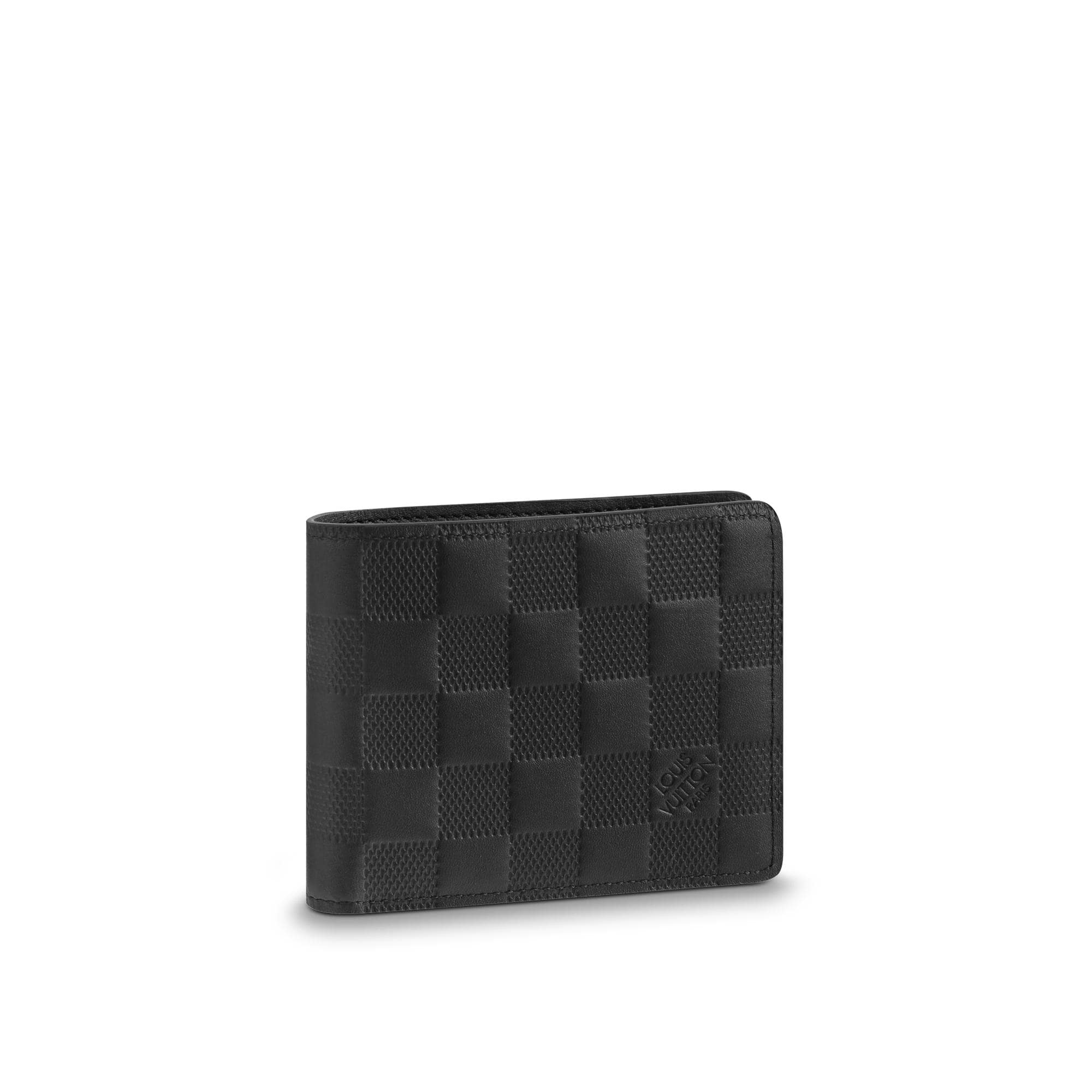 Louis Vuitton Slender Wallet Damier Infini Black