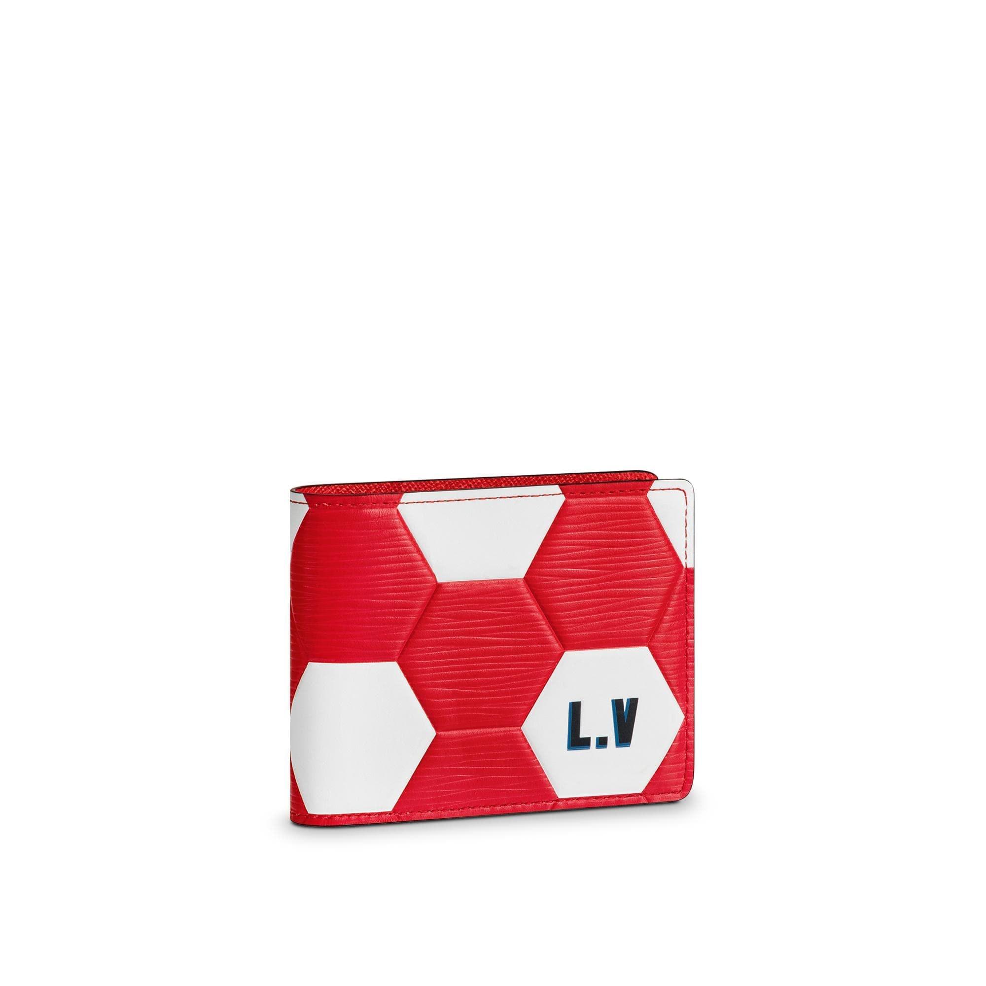 Louis Vuitton Slender Wallet Hexagonal FIFA World Cup Rouge