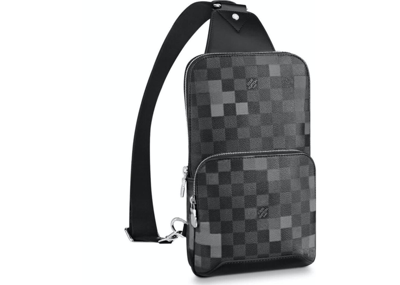 464a5ade4262 Louis Vuitton Sling Bag Avenue Damier Graphite Pixel Gris