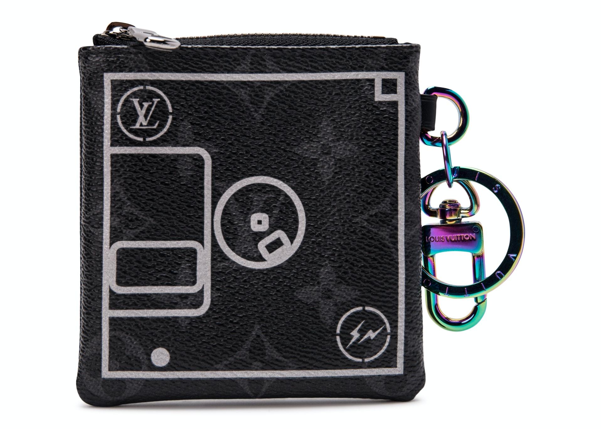 Louis Vuitton x Fragment Small Purse Monogram Eclipse Black