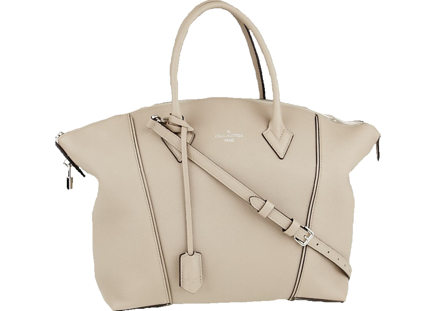 1b49bf7883c0 Sell. or Ask. View All Bids. Louis Vuitton Soft Lockit Veau Cachemire MM  Galet