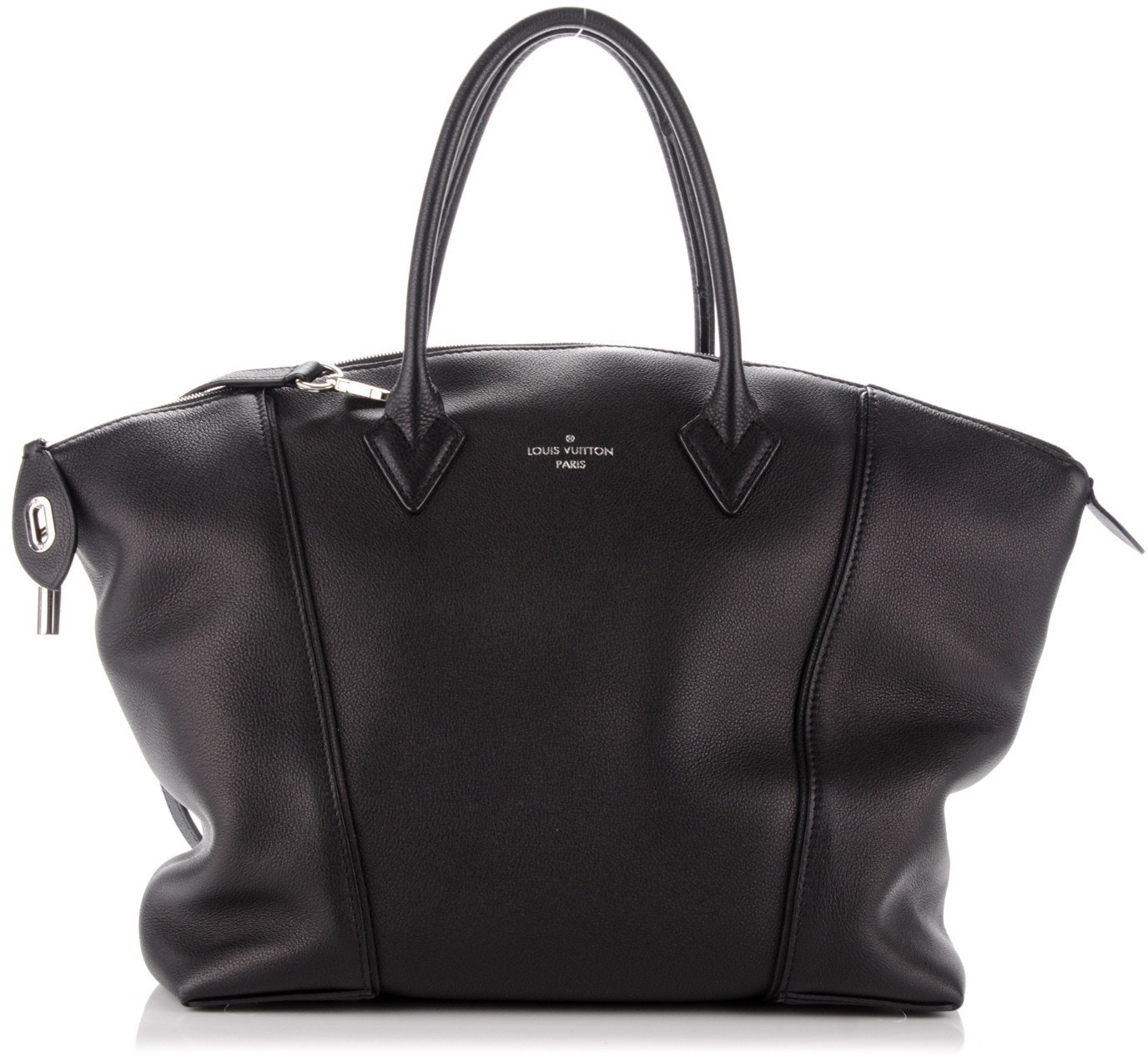 Louis Vuitton Soft Lockit Veau Cachemire MM Noir