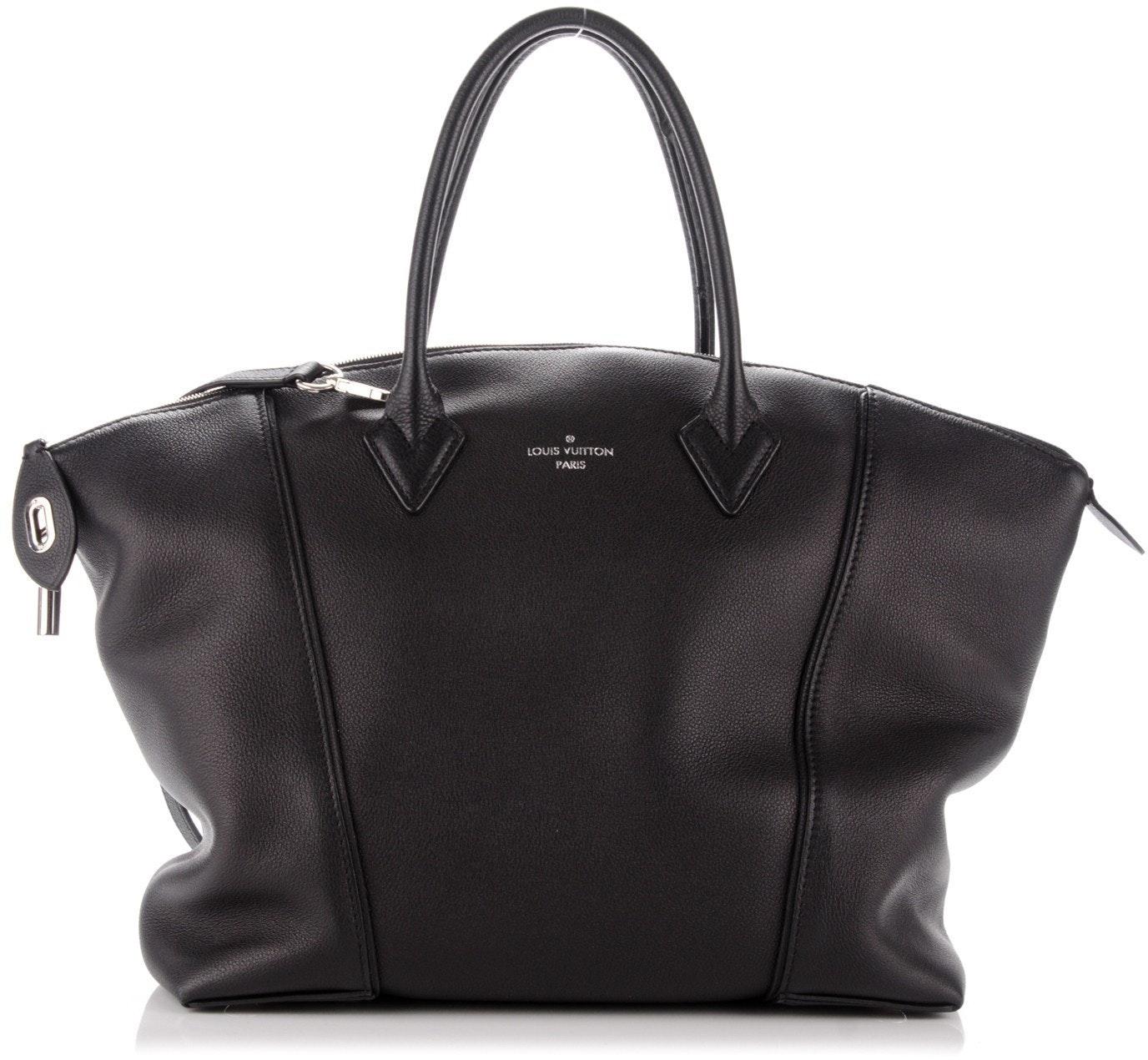 Louis Vuitton Soft Lockit Veau Cachemire MM Noir