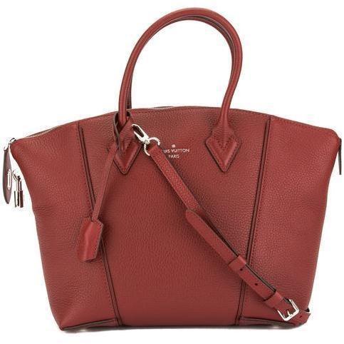 Louis Vuitton Soft Lockit Veau Cachemire PM Griotte