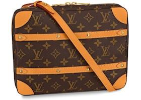 Louis Vuitton Soft Trunk Messenger Monogram MM Brown