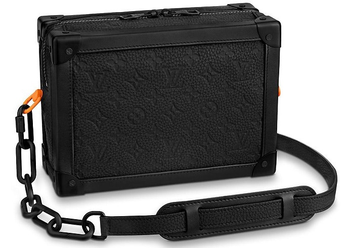 Louis Vuitton Soft Trunk Monogram Black