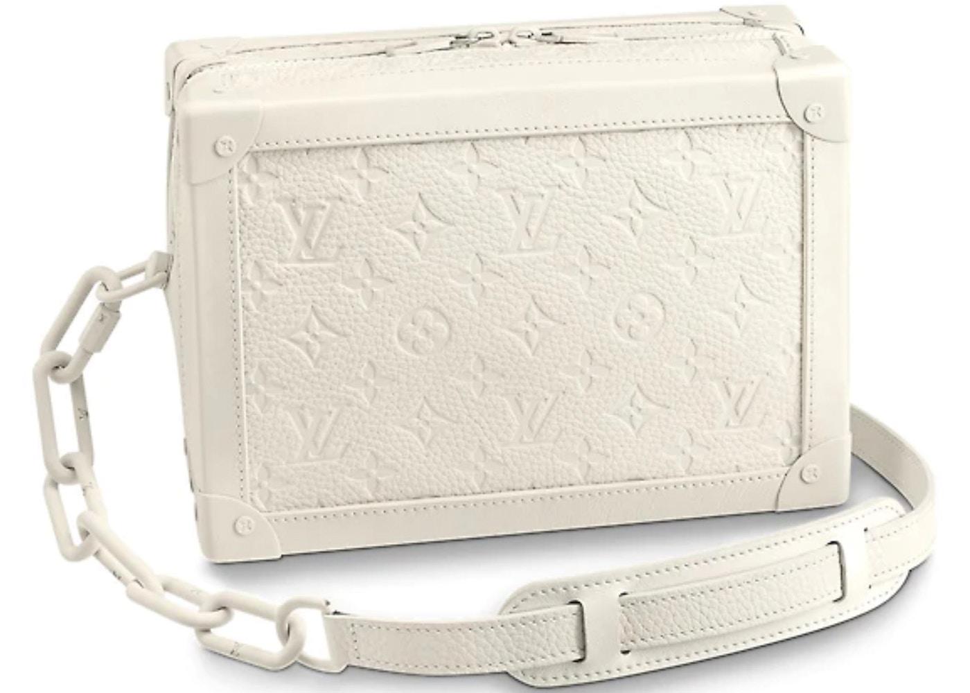 Louis Vuitton Soft Trunk Monogram Powder White