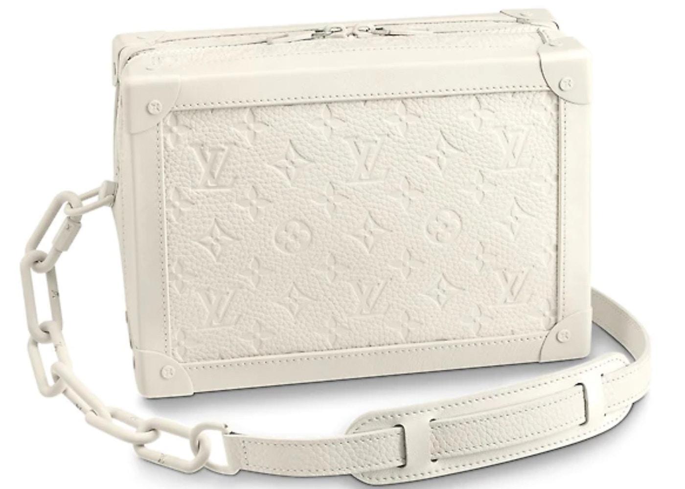 HypeAnalyzer · Louis Vuitton Soft Trunk Monogram Powder White d5367fe6ed436