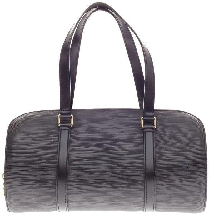 Louis Vuitton Soufflot Epi Black Brass