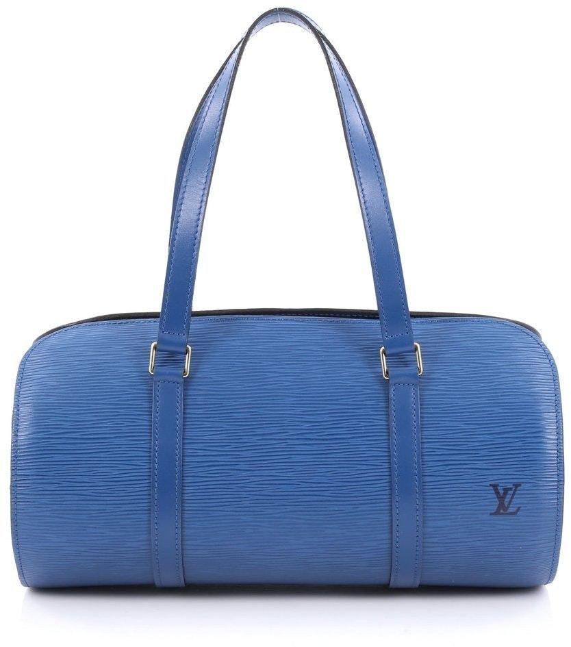 Louis Vuitton Soufflot Epi Toledo Blue