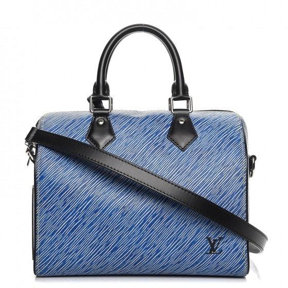 Louis Vuitton Speedy Bandouliere Epi 25 Denim