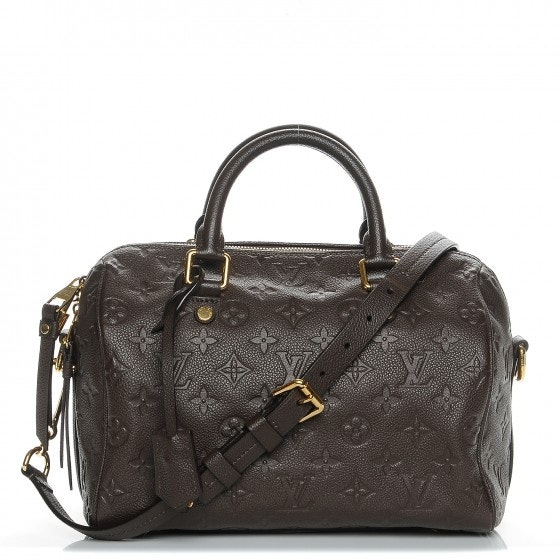 Louis Vuitton Speedy Bandouliere Monogram Empreinte 25