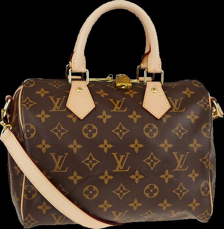 Louis Vuitton Speedy Bandouliere Monogram 25 Brown