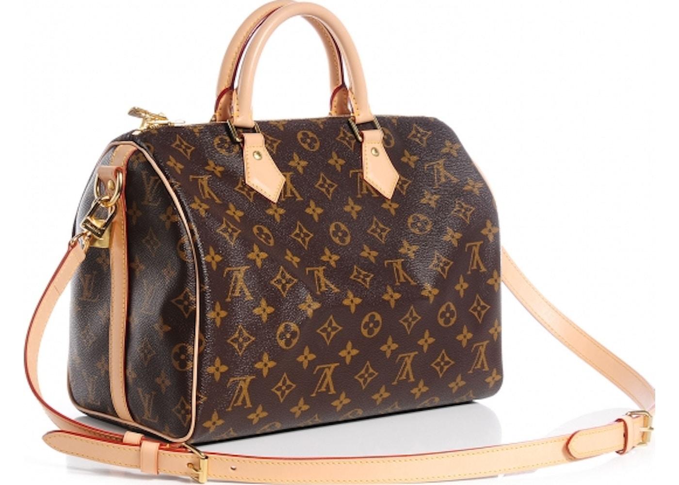 904c66914b04 Louis Vuitton Speedy Bandouliere Monogram 30 Brown
