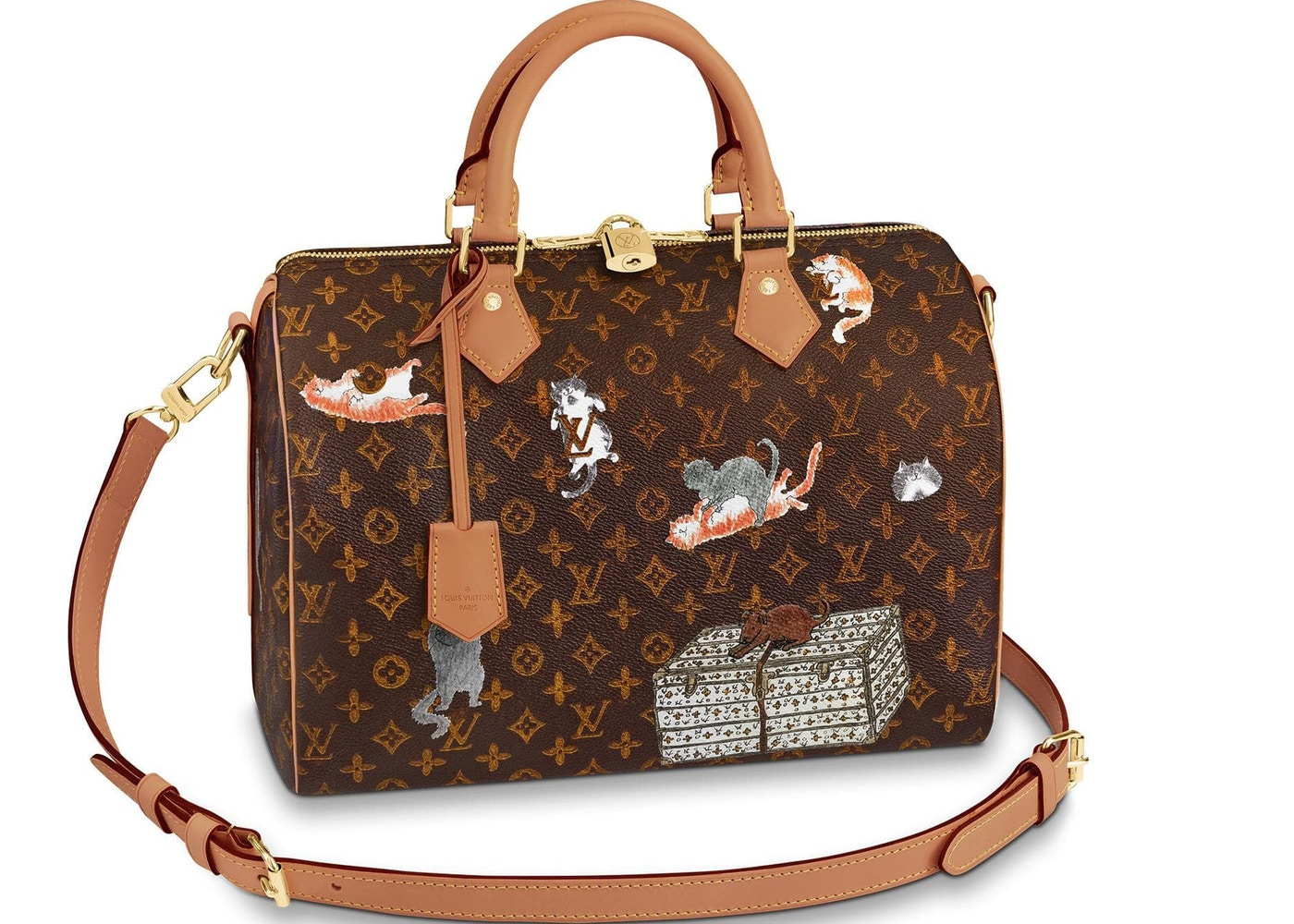 Louis Vuitton Speedy Bandouliere Monogram Canvas 30 Brown Orange. Monogram  Canvas 30 Brown Orange 744746b418037