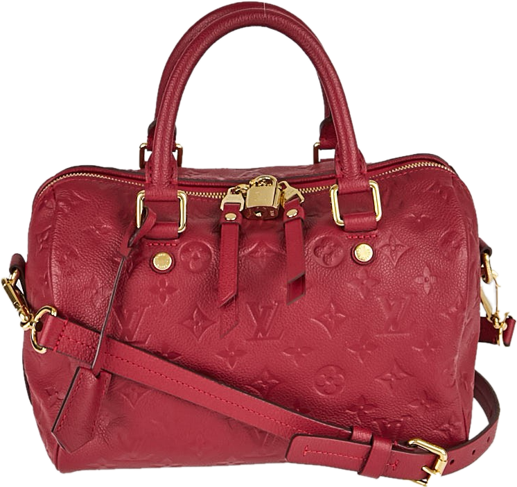 Louis Vuitton Bandouliere Speedy Monogram Empreinte 25 Rose Jaipur