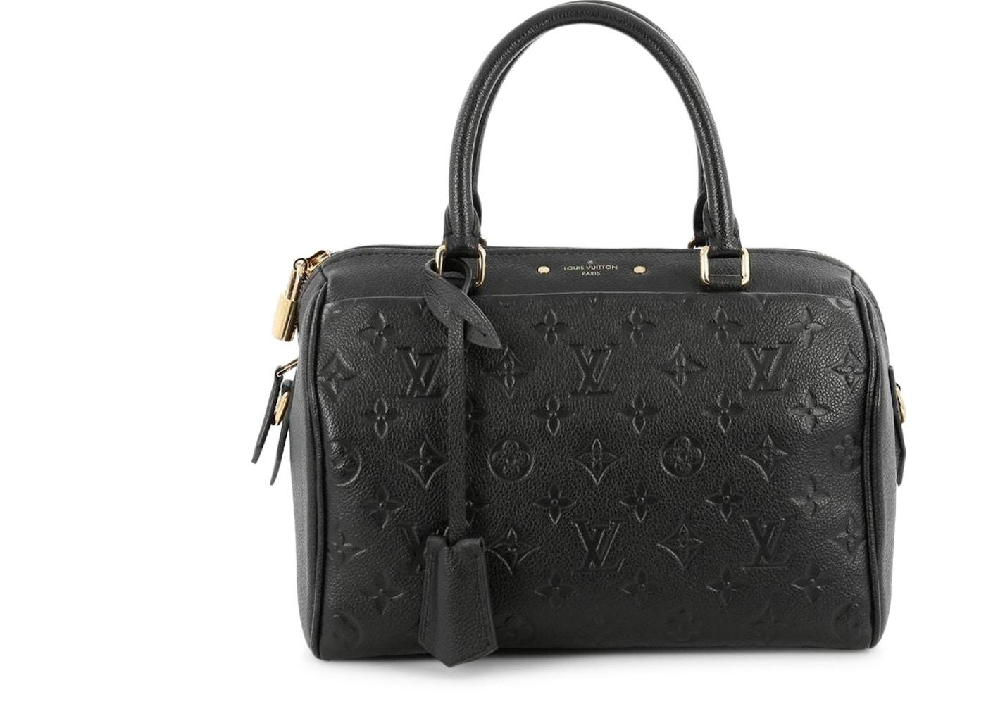 1f61c52413e66 Sell. or Ask. View All Bids. Louis Vuitton Speedy Bandouliere Nm Monogram Empreinte  25 Black