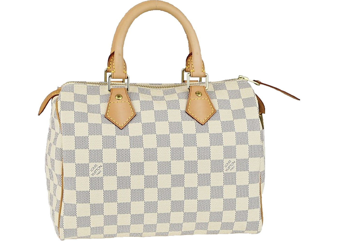 f5d44dc5c1b2 Louis Vuitton Speedy Damier Azur 25 Cream Blue