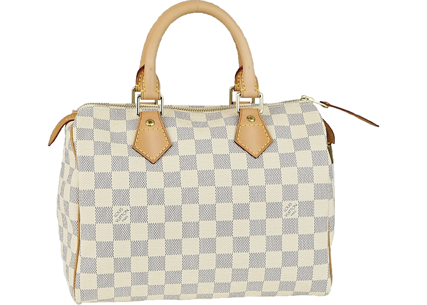 281326d5ab5 Louis Vuitton Speedy Damier Azur 25 White/Blue