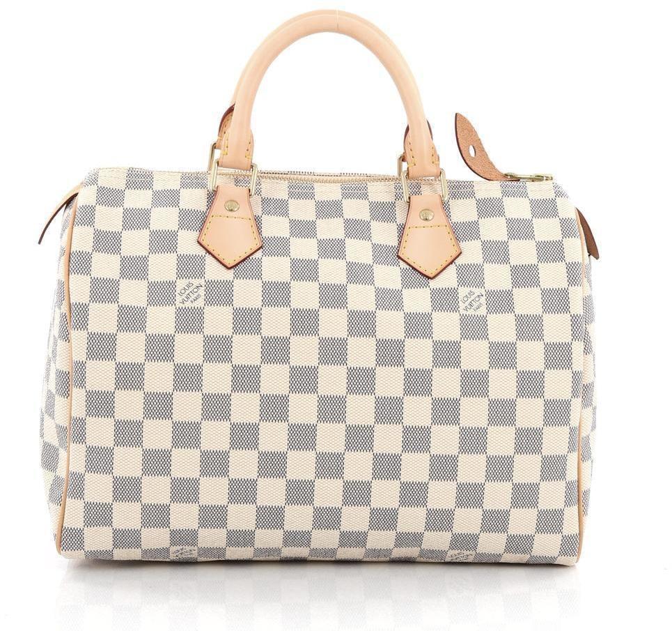 Louis Vuitton Speedy Damier Azur 30 Ivorie/Grey