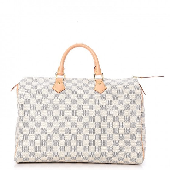 Louis Vuitton Speedy Damier Azur 35 White/Blue