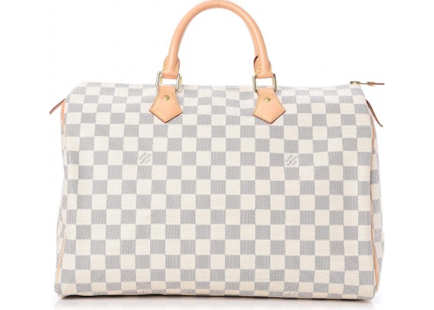 b2d540419c Louis Vuitton Speedy Damier Azur 35 White Blue. Damier Azur 35 White Blue