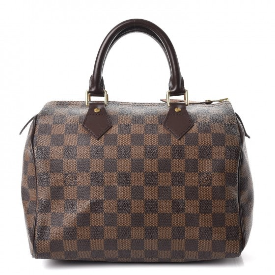 Louis Vuitton Speedy Damier Ebene 25 Brown