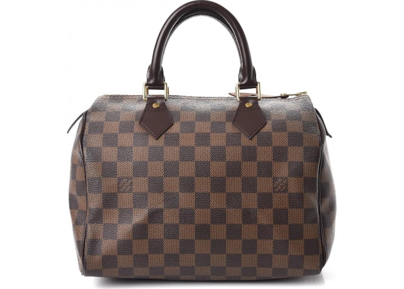 f680761e84384 Louis Vuitton Speedy Damier Ebene (Without Accessories) 25 Brown