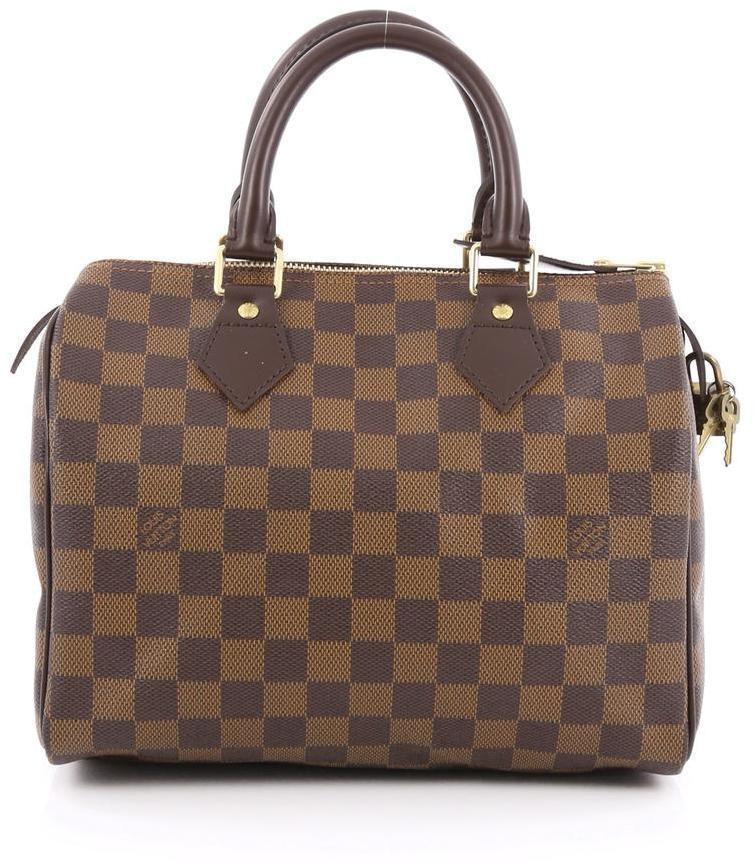 Louis Vuitton Speedy Damier Ebene 25 Brown