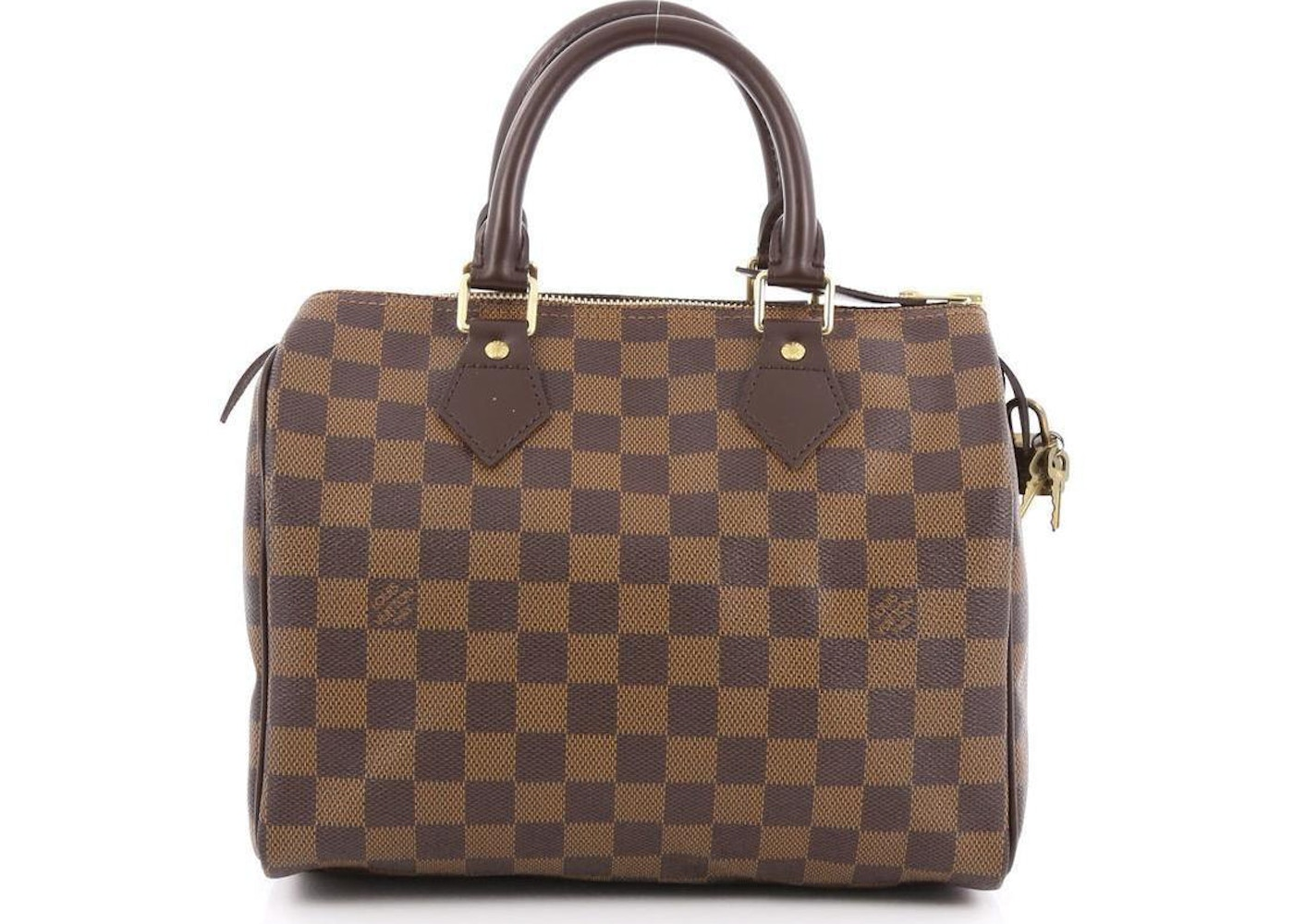 56d9b7452f62 Sell. or Ask. View All Bids. Louis Vuitton Speedy Damier Ebene 25 Brown