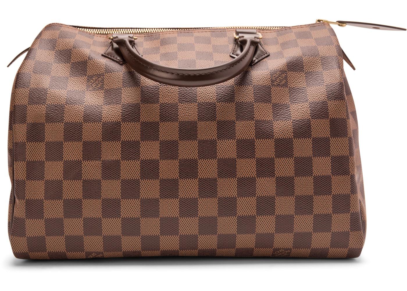 0ad8d145804 Louis Vuitton Speedy Damier Ebene (Without Accessories) 30 Brown