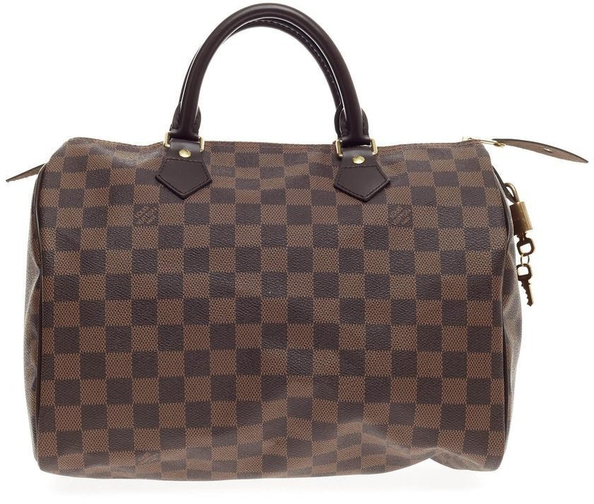 Louis Vuitton Speedy Damier Ebene 30 Brown