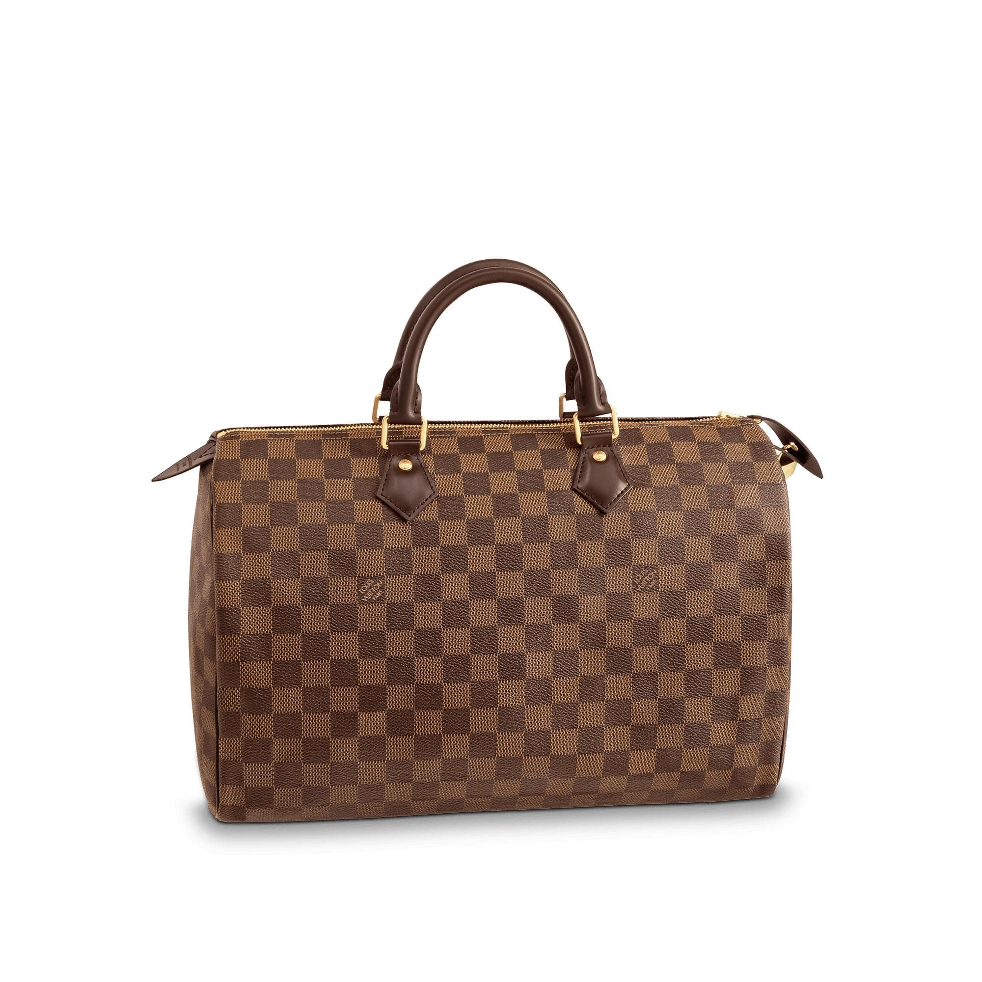 Louis Vuitton Speedy Damier Ebene 35 Brown