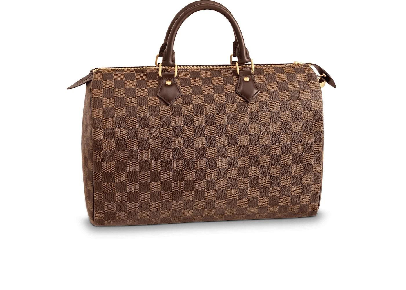 e855c4ffee42e Louis Vuitton Speedy Damier Ebene 35 Brown