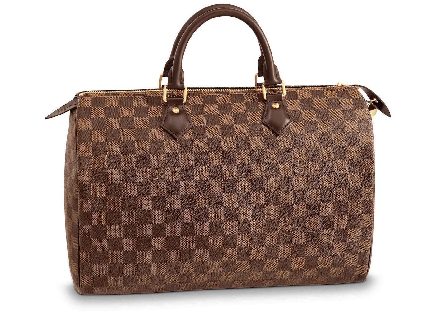 f9b1281e Louis Vuitton Speedy Damier Ebene 35 Brown
