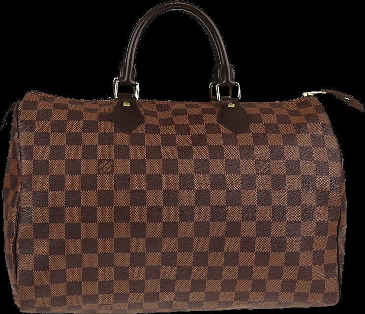 Louis Vuitton Speedy Damier Ebene 35 Brown