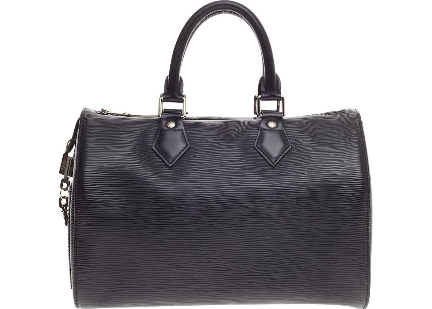 cbc3c65249759 Louis Vuitton Speedy Epi 25 Black. Epi 25 Black