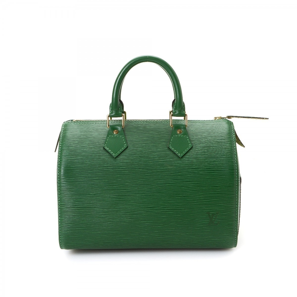 Louis Vuitton Speedy Epi 25 Borneo Green