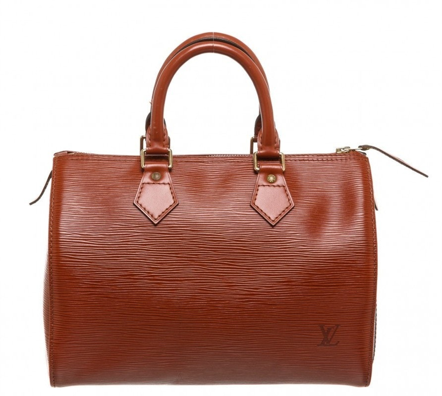 Louis Vuitton Speedy Epi 25 Siena,Brown