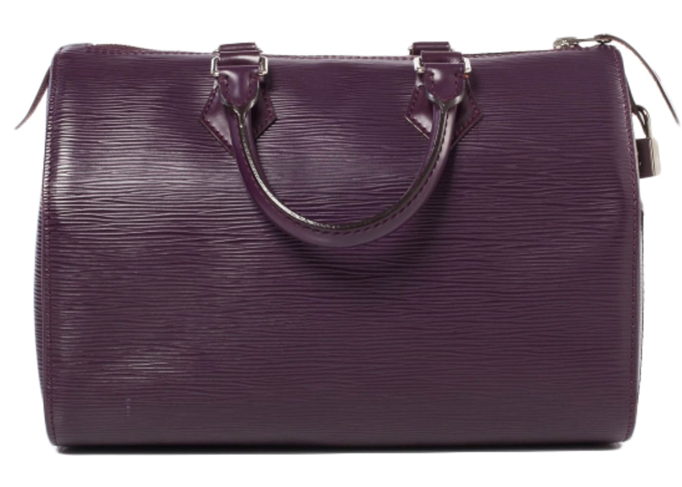 louis vuitton speedy epi 25 cassis purple. Black Bedroom Furniture Sets. Home Design Ideas